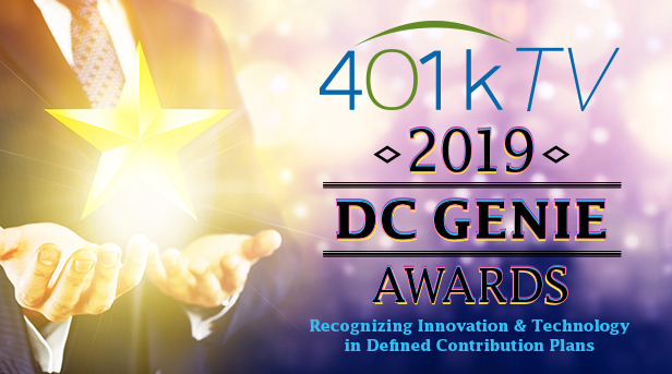 401kTV • 2019 • DC GENIE | AWARDS | Recognizing Innovation & Technology in Defined Contribution Plans